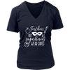 Teachers Not all superheros wear capes - Ladies V-neck T-shirt 7-colors Plus Size Available S-4XL - MADE IN THE USA