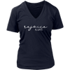 rejoice always - Christian Womens V-Neck 7 Colors Available Plus Size S-4XL - MADE IN THE USA