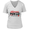 difference maker - #teacherlife - teacher - Ladies V-neck T-shirt 4-colors Plus Size Available S-4XL - MADE IN THE USA