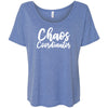 Chaos Coordinator - Bella Brand Ladies Slouchy Mom Tee Feminine Women T-shirt - 7 colors available PLUS Size S-2XL MADE IN THE USA