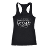 when all else fails maintain FOCUS - Ladies Racerback Photographer Tank Top Women Photography - 5 colors available - PLUS Size XS-2XL MADE IN THE USA