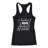 Teachers Not all superheros wear capes - Ladies Racerback Tank Top Women - 13 colors available - PLUS Size XS-2XL MADE IN THE USA