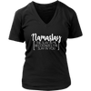 Namaslay V-neck Tee Women T-shirt - 7 colors available PLUS Size S-4XL MADE IN THE USA
