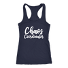 Chaos Coordinator - Ladies Racerback Mom Tank Top Women - 5 colors available - PLUS Size XS-2XL MADE IN THE USA