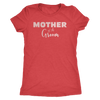 Mother of the Groom - (Pink Rose) Mom Tee O-neck Women TriBlend T-shirt - 5 colors available PLUS Size S-2XL MADE IN THE USA