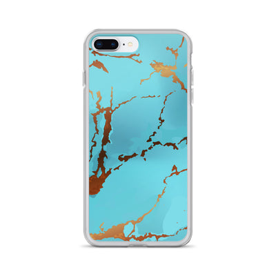 Marble Turquoise - Cell Phone Case - iPhone