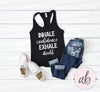 INHALE confidence EXHALE doubt - Ladies Racerback Motivational Tank Top Women - 5 colors available - PLUS Size XS-2XL MADE IN THE USA