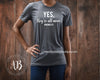 Yes, they're all mine - O-neck Women TriBlend T-shirt Mom Tee - 5 colors available PLUS Size S-2XL MADE IN THE USA