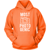 Most Photogenic - Photography - Unisex Pull-over Hoodie - 12 Colors AVAILABLE Plus Size: S-5XL - MADE IN THE USA