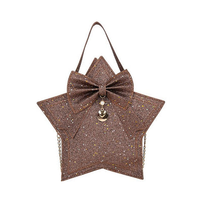 Shimmer Star Purse Evening Bag - 3 Colors