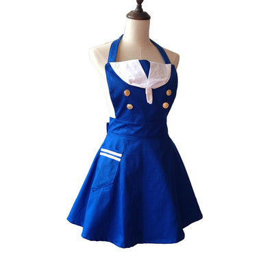 Sailor Cutie Kitchen Cooking Apron Sexy Maid Hot Waitress Costume Aprons