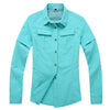 UV Resistant Quick Dry Womens Summer Outdoor Shirts with detachable sleeves 5 Colors available PLUS size S-2XL  Hiking Cycling Fishing Golf Casual Beach