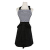 Sophisticated Stripes Womens Kitchen Apron