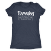 Namaslay - O-neck Women TriBlend T-shirt Tee - 5 colors available PLUS Size S-2XL MADE IN THE USA