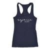 rejoice always - Christian Ladies Racerback Tank Top Women - 12 colors available - PLUS Size XS-2XL MADE IN THE USA