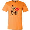 LipBoss Unisex Tee 9 Colors - Lipstick Kiss - PLUS Size T-Shirt AVAILABLE S-3XL - MADE IN THE USA