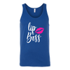 LipBoss Tank for Women Tee 4 colors available PLUS Size S-2XL MADE IN THE USA