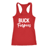BUCK Furpees - Ladies Racerback Fitness Tank Top Women - 5 colors available - PLUS Size XS-2XL MADE IN THE USA