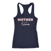 Mother of the Groom - (Pink Rose) Ladies Racerback Mom Tank Top Women - 7 colors available - PLUS Size XS-2XL MADE IN THE USA