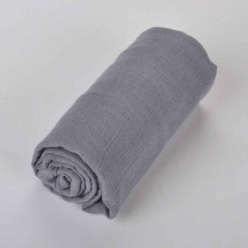 Premium Breathable Cotton Blend Hijab | Grey - Mohuma Modesty House