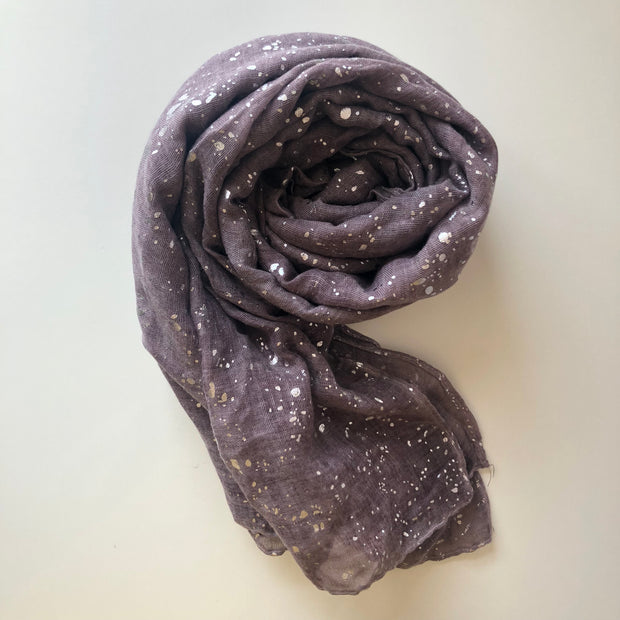 Crushed Glitter Hijab | Dusty Mauve - Mohuma Modesty House