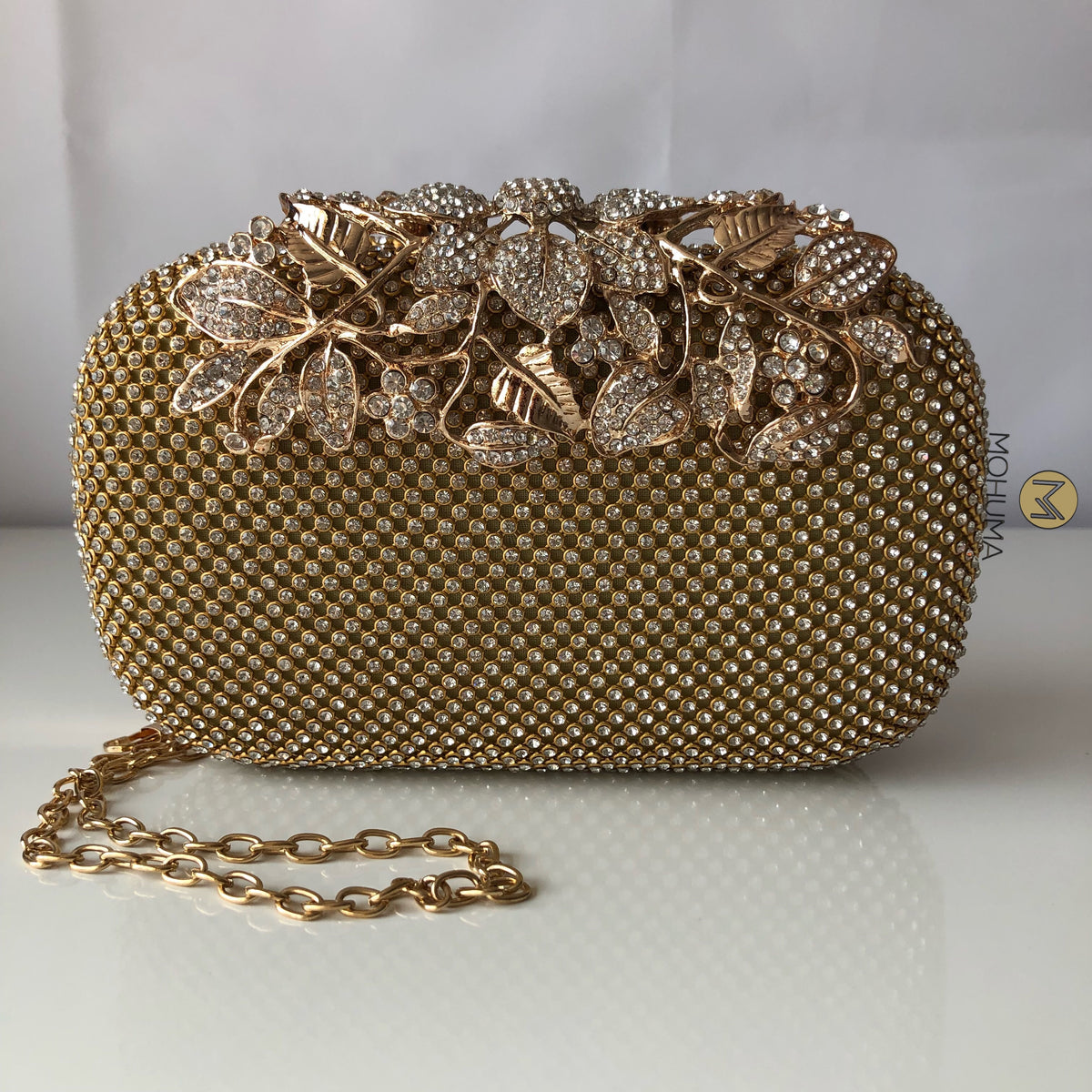 Evening Clutch Bag | Gold - Mohuma Modesty House
