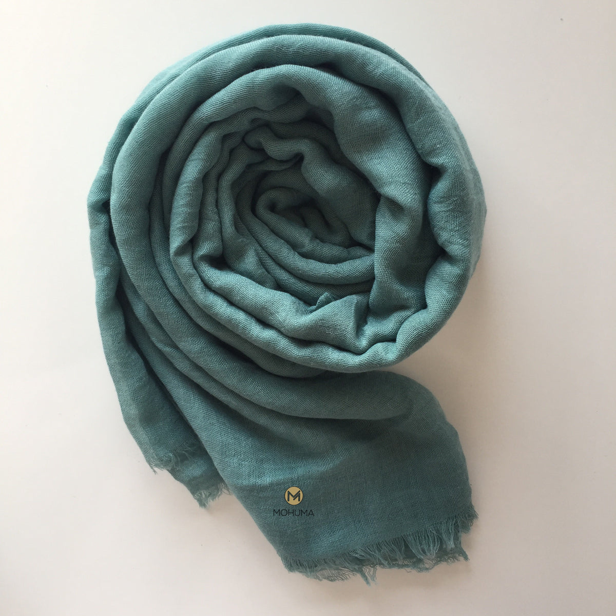 Premium Breathable Cotton Blend Hijab | Sage - Mohuma Modesty House