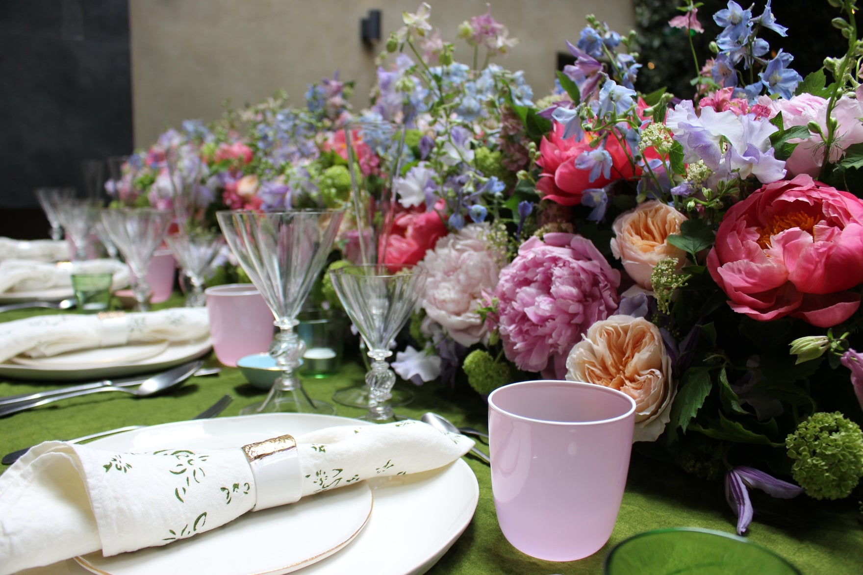 Summer Garden Party at the Marylebone Hotel