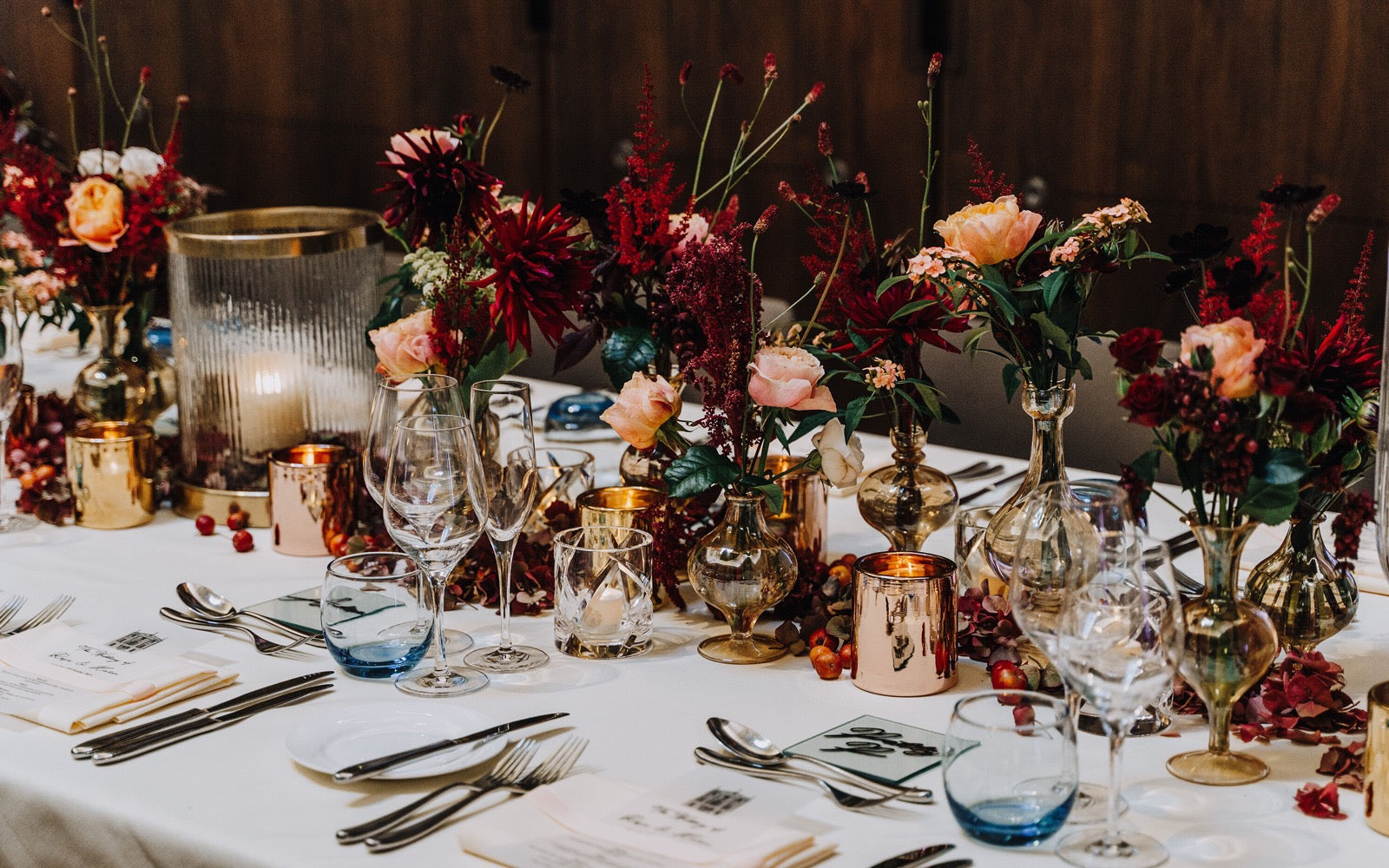 Autumnal Floral Wedding