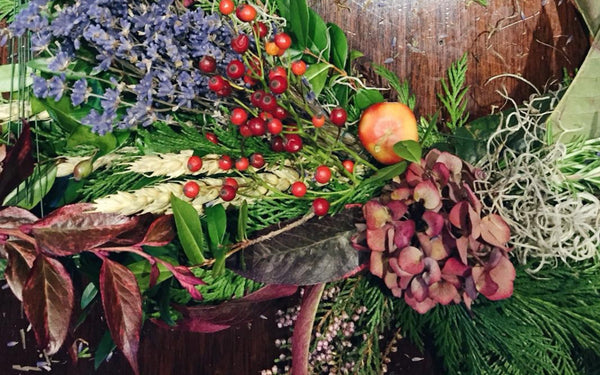 Autumn Wreath Making Workshop with The Body Shop