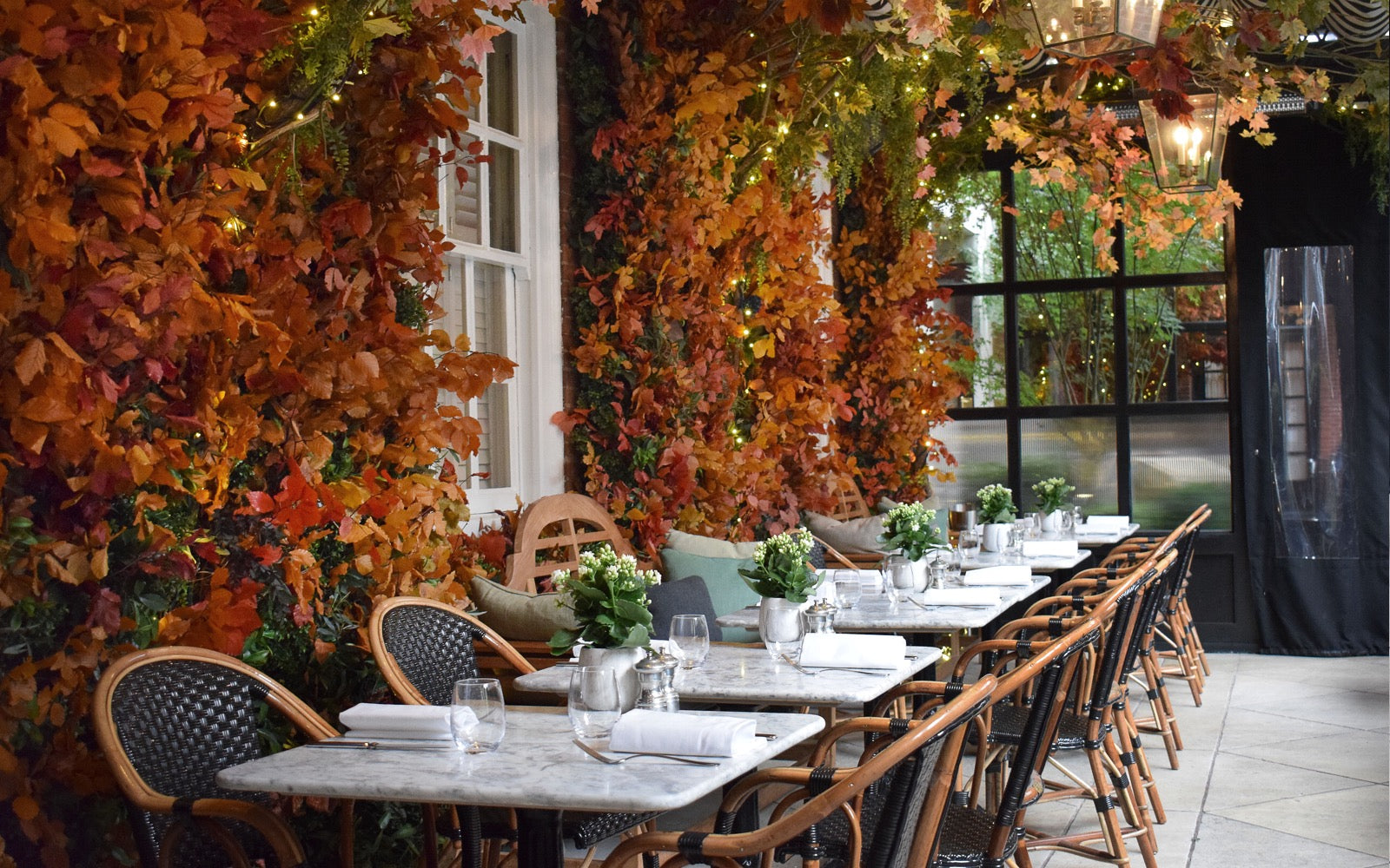 Celebrating Autumn at Dalloway Terrace