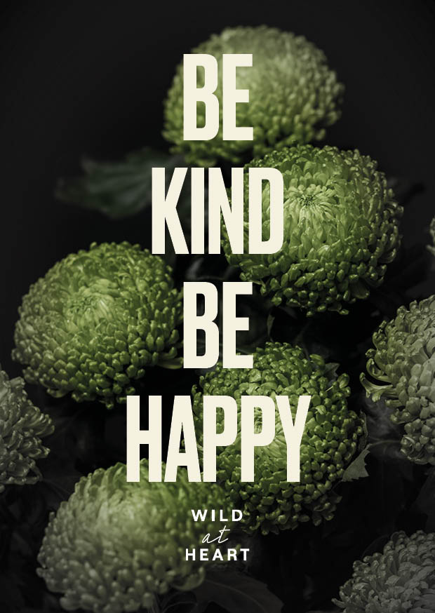 Be Kind Be Happy Card