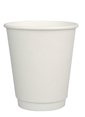 12oz Compostable Double Wall Cup with CPLA Lid -