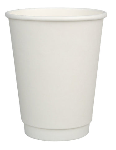 16oz Compostable Double Wall Cup with CPLA Lid -