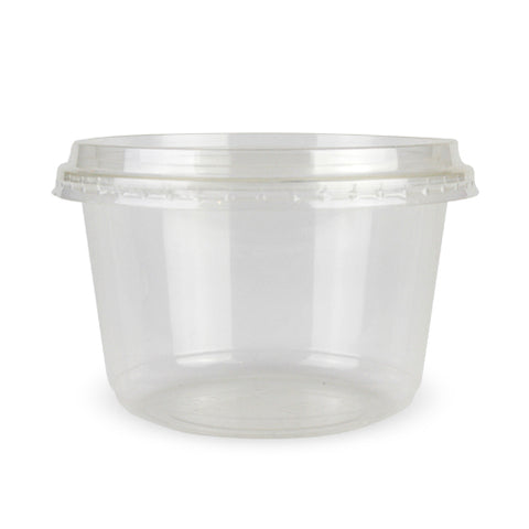 16oz PLA Deli Container - 1000 Units -