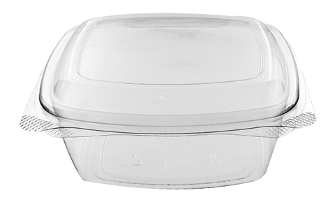 48oz PLA Compostable Deli Container - 200 Units -