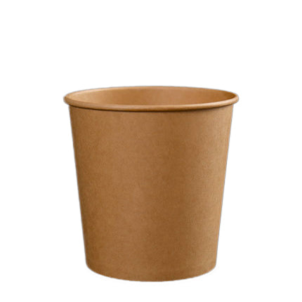 26oz Kraft Soup Bowl with Lid - 500 Units