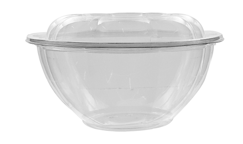 32oz PLA Compostable Bowl with Lids - 200 Units -