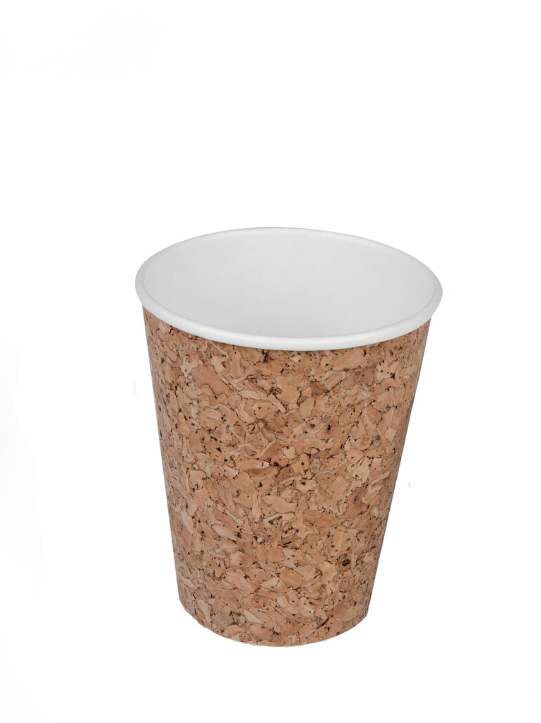 8oz Cork Coated Coffee Cup - 500 units -