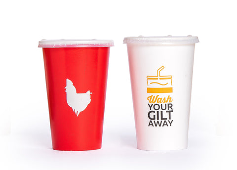 Custom Cold Paper Cups -
