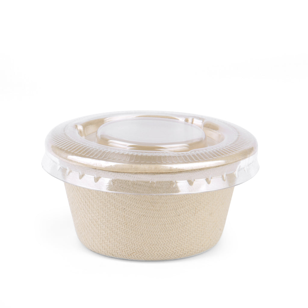 2oz Condiment Container with Lid - 1000 Units