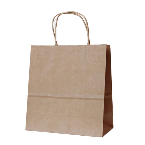 Medium Brown Kraft Paper Bag - 250 Units -