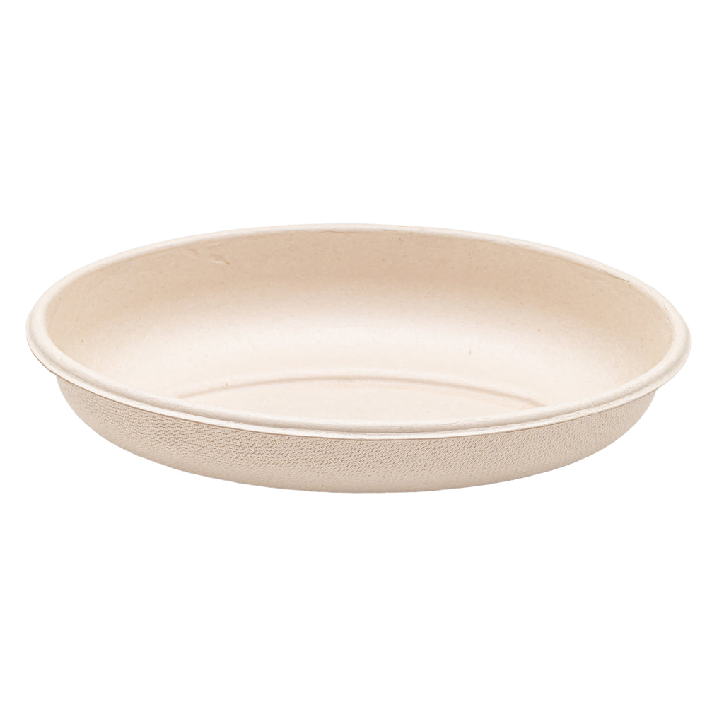 18oz Bagasse Burrito Container with Lid - 300 Units -
