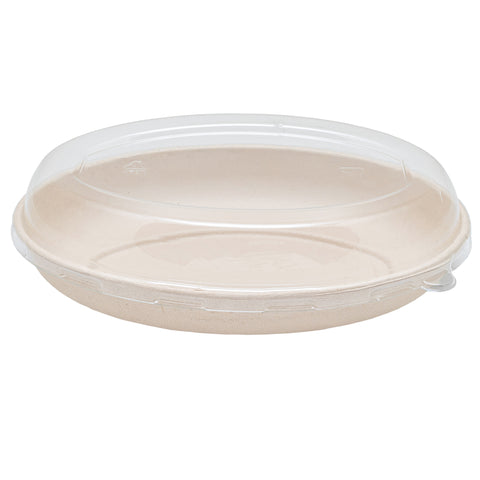 26oz Bagasse Burrito Container with Lid - 300 Units