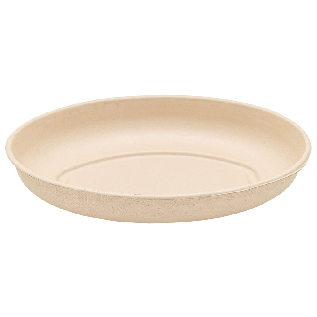 26oz Bagasse Burrito Container with Lid - 300 Units -