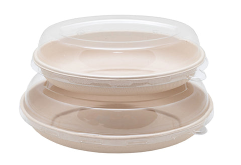 Bagasse Oval Containers -