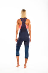 women's navy knee warmers
