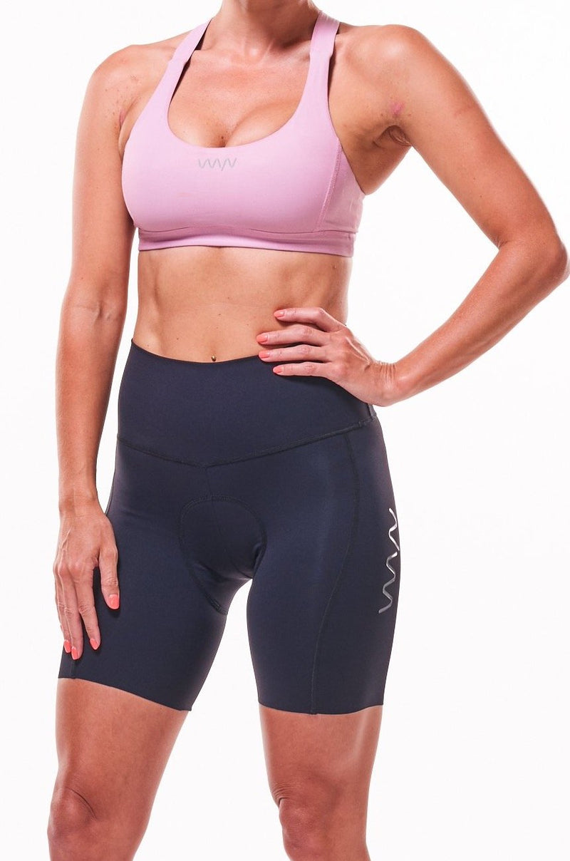 "womens spin to WYN cycling shorts (7.5"")"
