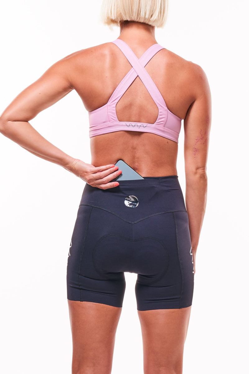 "womens spin to WYN cycling shorts (5.5"")"