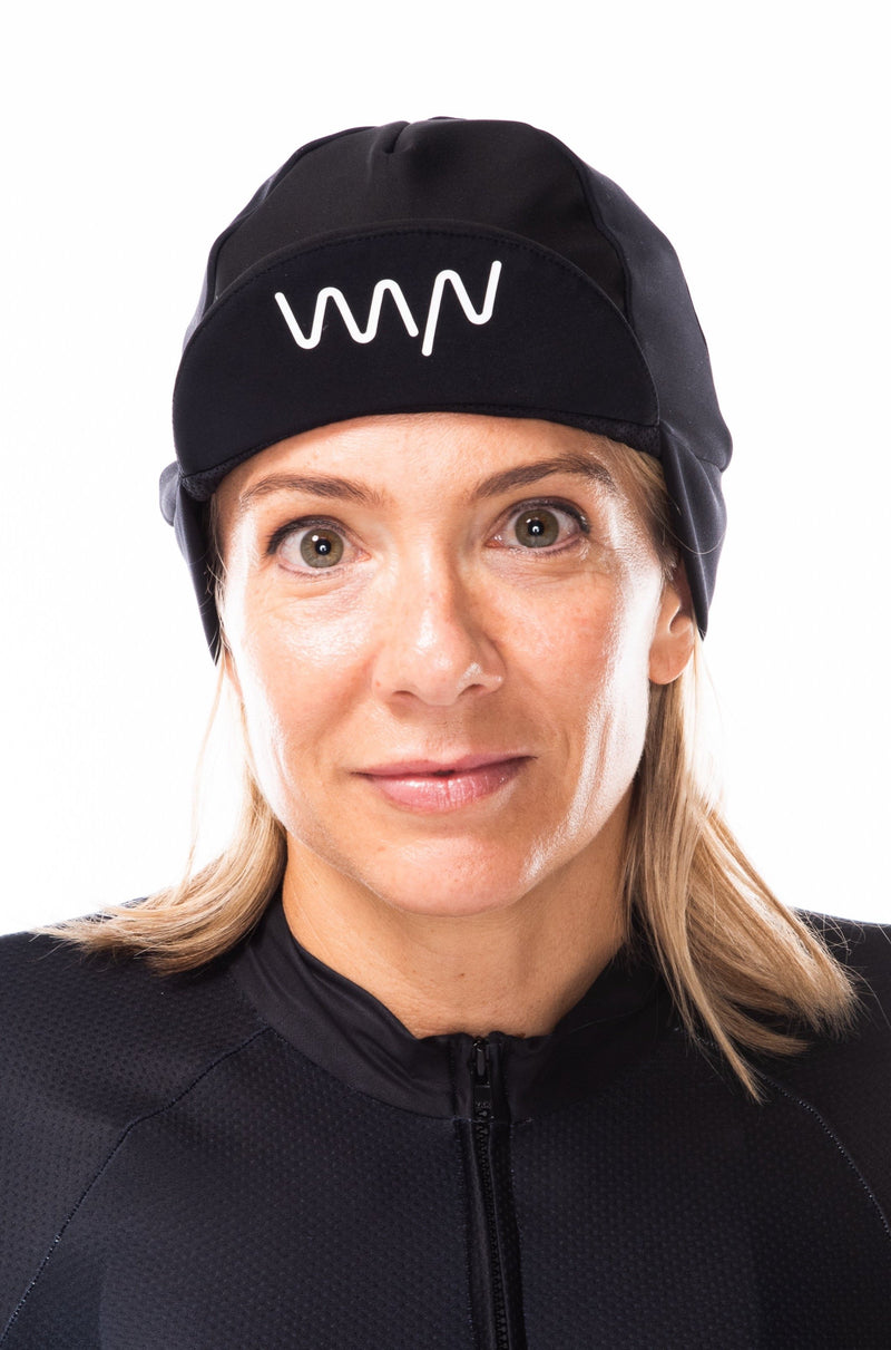 essentials thermal cycling cap - black